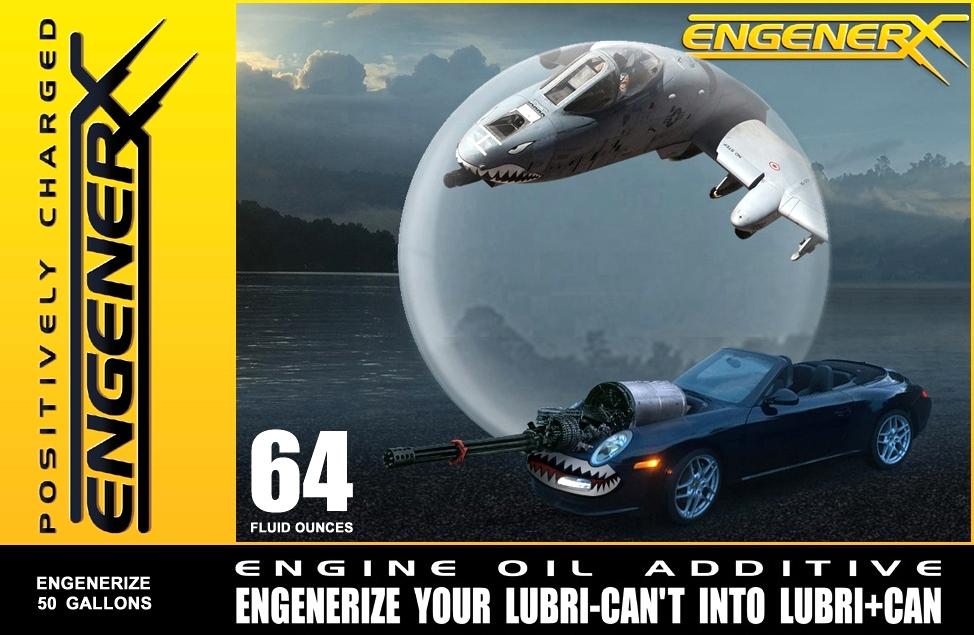 Battlefield Perfected Technology | EngenRx 64 Ounce Engine Oil Treatment